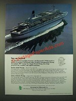 1986 Raymond & Whitcomb Royal Viking Line Cruise Ad - You Are Invited