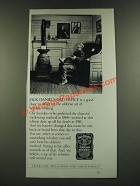 1986 Jack Daniel's Whiskey Ad - Jack Daniel's Old Office