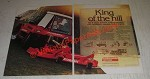 1986 Jacobsen G-4x4 Tractor Ad - King of The Hill