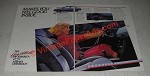 1986 Chevrolet Cavalier RS Coupe Ad - Makes You Feel Good Inside