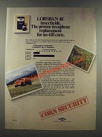 1986 Dow Lorsban 4E Ad - The Proven Toxaphene Replacement