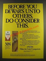 1986 Cutty Sark Scotch Ad - Before You Dewar's Unto Others, Do Consider This