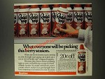 1986 Reddi-wip Whipped Topping Ad - Everyone Will Be Picking This Berry Season