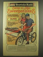 1986 Tootsie Roll Ad - Swap-a-Joke Sweepstakes