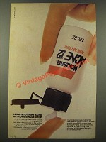1986 Noxzema Acne 12 Ad - 12 Ways to Fight Acne With One Single Drop