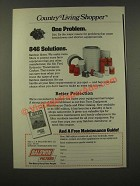 1986 Baldwin Filters Ad - One Problem