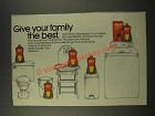 1986 Lysol Disinfectant Ad - Give Your Family the Best
