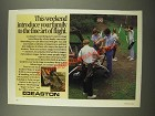 1986 Easton Archery Ad - Introduce Your Family to the Fine Art of Flight