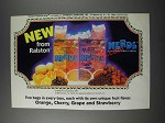 1986 Ralston Nerds Cereal Ad - Two Bags In Every Box