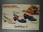 1986 Daniel Green Shoes Ad - Colleen, Sarasota and Jaunt