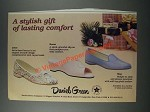 1986 Daniel Green Shoes Ad - Lotus, Karen and Meg