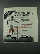 1986 Fitness Master LT-35 Exercise Machine Ad - Steve Sokol