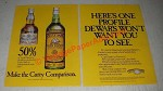 1986 Cutty Sark Scotch Ad - Here's One Profile Dewar's Won't Want You To See