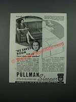 1938 Pullman Sleeper Sofa Bed Style A20 Ad - We Saved Room
