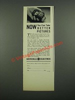 1938 General Electric Exposure Meter Ad - Now You Can Take Better Pictures