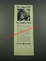 1938 General Electric Exposure Meter Ad - The Ideal Gift for Camera Fans
