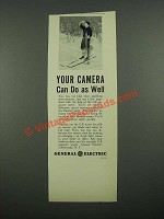 1938 General Electric Exposure Meter Ad - Your Camera Can Do As Well