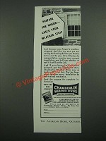 1938 Chamberlin Weather Strips Ad - Prepare for Winter Check Your Weather Strip