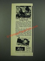 1938 Leica Model G Camera Ad - Brings You The Island of Bali