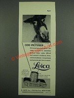 1937 Leica Camera Ad - Odd Pictures