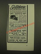 1947 Spiratone Slide Projector Outfit Ad