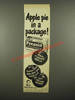 1948 Betty Crocker Apple Pyequick Ad - Apple Pie in a Packge