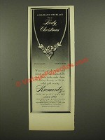 1948 Krementz Necklace Ad - A Garland Necklace for a Lovely Christmas