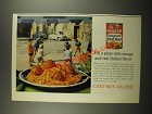 1964 Chef Boy-ar-dee Spaghetti and Meat Balls Ad - Fill A Plate With Energy