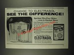 1964 Electrasol Dishwasher Detergent Ad - See the Difference