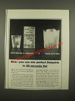 1964 Puerto Rican Rums Ad - Now You Can Mix Perfect Daiquiris
