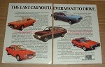 1978 2pg Lancia Beta Spyder, Coupe, Saloon, HPE Ad!!