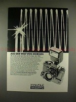 1979 Contax 139 Quartz Camera Ad, in German - NICE!!