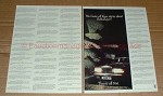 1983 2pg Rolls-Royce Car Ad - Stories Are All True!!