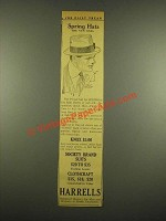 1915 Harrells Knox Hat Ad - Spring Hats The New Ones