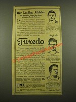 1915 Tuxedo Tobacco Ad - Martin Sheridan, Gaston Strobino, Matt McGrath