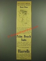 1915 Harrells Knox Hats Ad - Knox Does