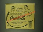 1915 Coca-Cola Soda Ad - Making Good