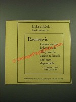 1915 Racinewis Light As Birch
