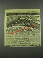 1884 Warren Manufacturing Jameson Double-Barrel Breech-Loading Shotgun Ad