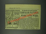 1884 F.O. Wehoskey & Co. President and Vice President Campaign Pictures Ad