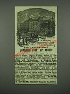 1884 New England Conservatory of Music Ad