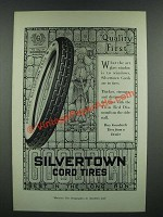 1919 Goodrich Silvertown Cord Tires Ad
