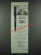 1919 Waterman's Ideal Fountain Pen Ad - The Tool of Opportunity