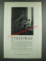 1919 Steinway Piano Ad