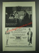 1919 B.V.D. Underwear Ad - Yes, Dear, I Asked For