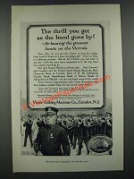 1919 Victor Records Ad - Sousa - The Thrill You Get As the Band Goes By
