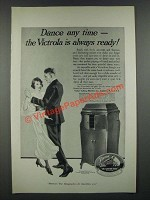 1919 Victor Victrola XVII Ad - Dance Any Time