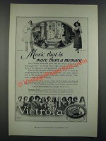 1919 Victor Records Ad - Caruso and Gluck - Music That Is More Than a Memory