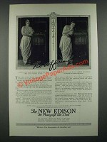 1919 The New Edison Phonograph Ad - Carolina Lazzari