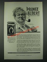 1919 Prince Albert Tobacco Ad - The National Joy Smoke
